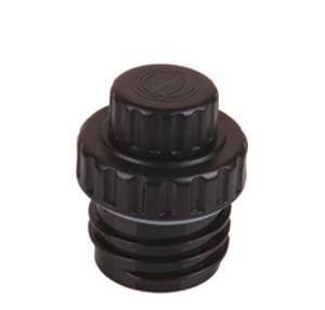 Produktbild des 2 teiligen Reduzier-Verschlusses aus PP5 mit einer 2cm Trinköffnung von ECOtanka. Um ein schnelles und zügiges Trinken auch unterwegs zu ermöglichen. Für Kohlensäurehaltige Getränke geeignet.