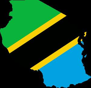 Flag from Tanzania