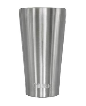 Produktbild des 350ml doppelwandig isolierenden Trinkbechers aus Edelstahl in Silber von ECOtanka. Umweltfreundlicher Coffee to Go Becher. Ideal für Heiß- und Kaltgetränke. Der Kompakte Begleiter für Kinder und Erwachsene passt in jede Tasche.