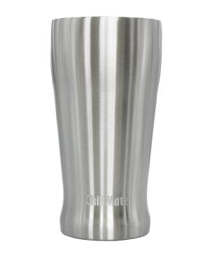 Produktbild des 450ml doppelwandig isolierenden Trinkbechers aus Edelstahl in Silber von ECOtanka. Umweltfreundlicher Coffee to Go Becher. Ideal für Heiß- und Kaltgetränke. Der Kompakte Begleiter für Kinder und Erwachsene passt in jede Tasche.