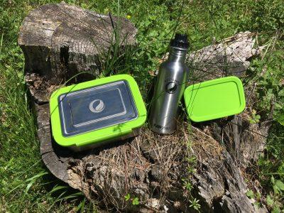 Nachhaltigkeit unterwegs mit Edelstahl Trinkflaschen und Lunchboxen