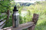 Edelstahl Trinkflasche Natur