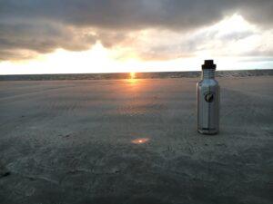 Sonnenuntergang mit ECOtanka