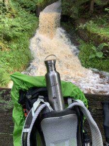 spirit of adventure im rucksack